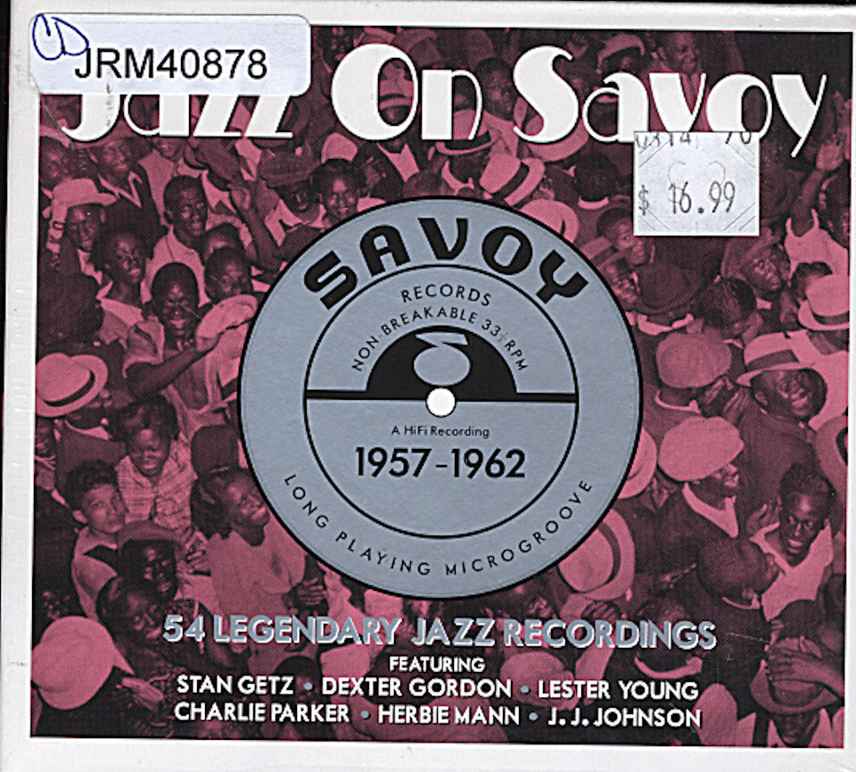 Jazz On Savoy: 1957-1962 CD