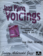 Jazz Piano Voicings Book
