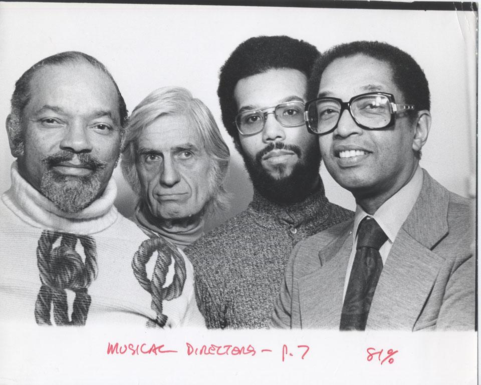 Jazz Reportory Co. Singers Vintage Print