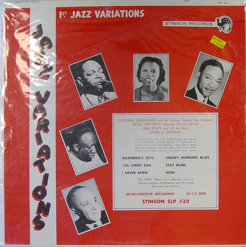 "Jazz Variations: Volume 1 Vinyl 12"" (Used)"