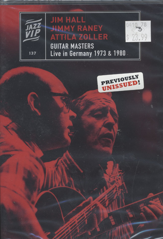 Jazz VIP: Guitar Masters DVD