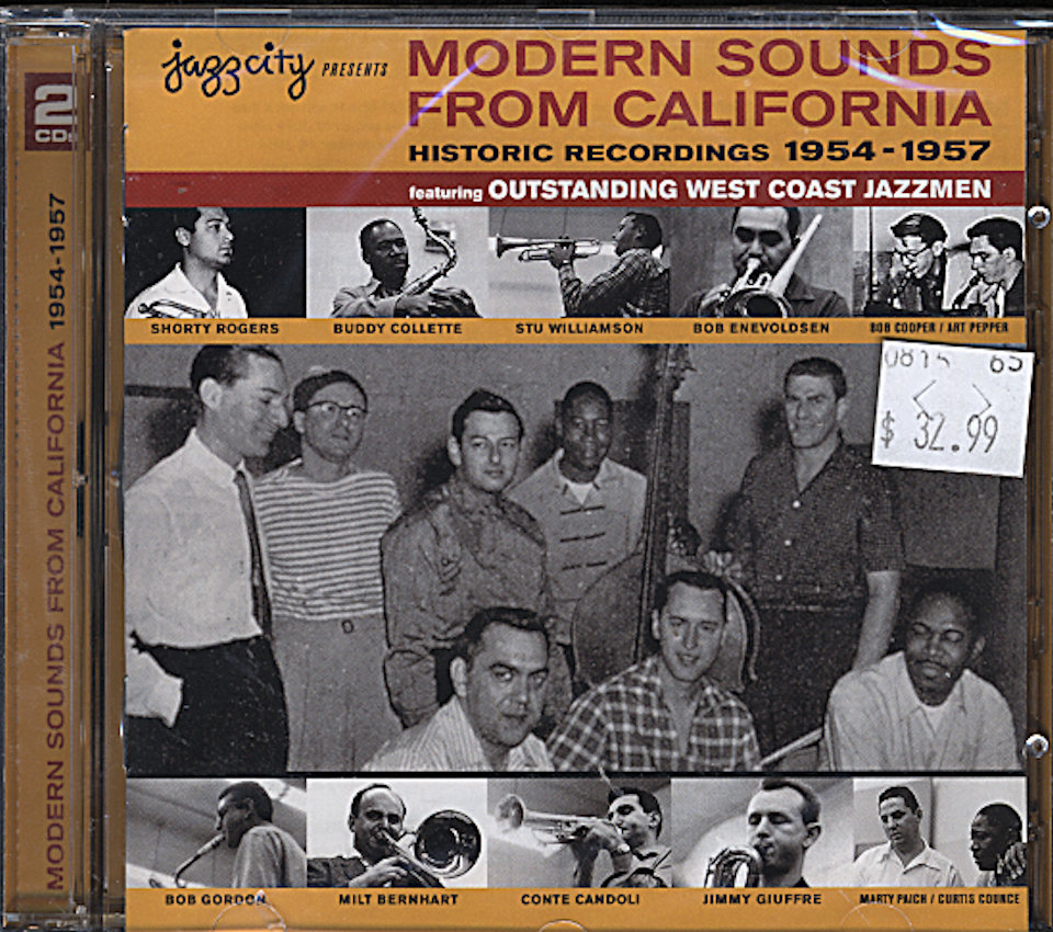 Jazzcity Presents Modern Sounds From California ( Historic Recordings 1954-1957 ) CD