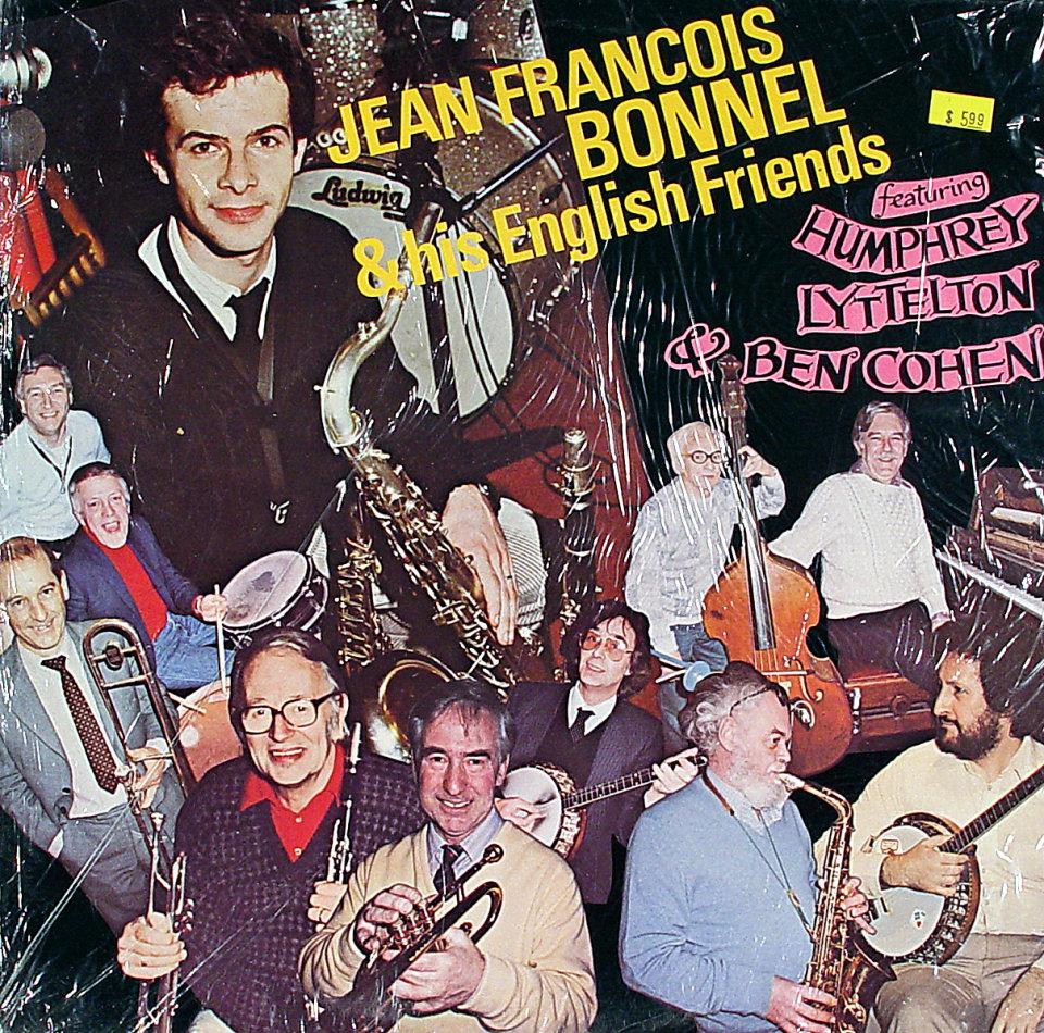 """Jean-Francois Bonnel & His English Friends Vinyl 12"""" (New)"""