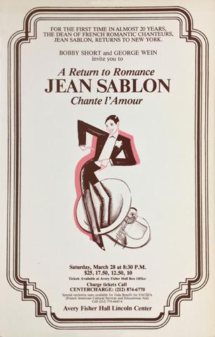 Jean Sablon Poster