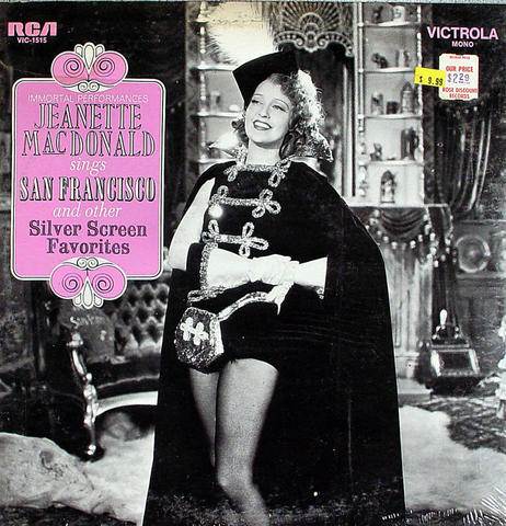 "Jeanette MacDonald Vinyl 12"" (New)"