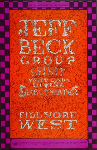 Jeff Beck Group Handbill