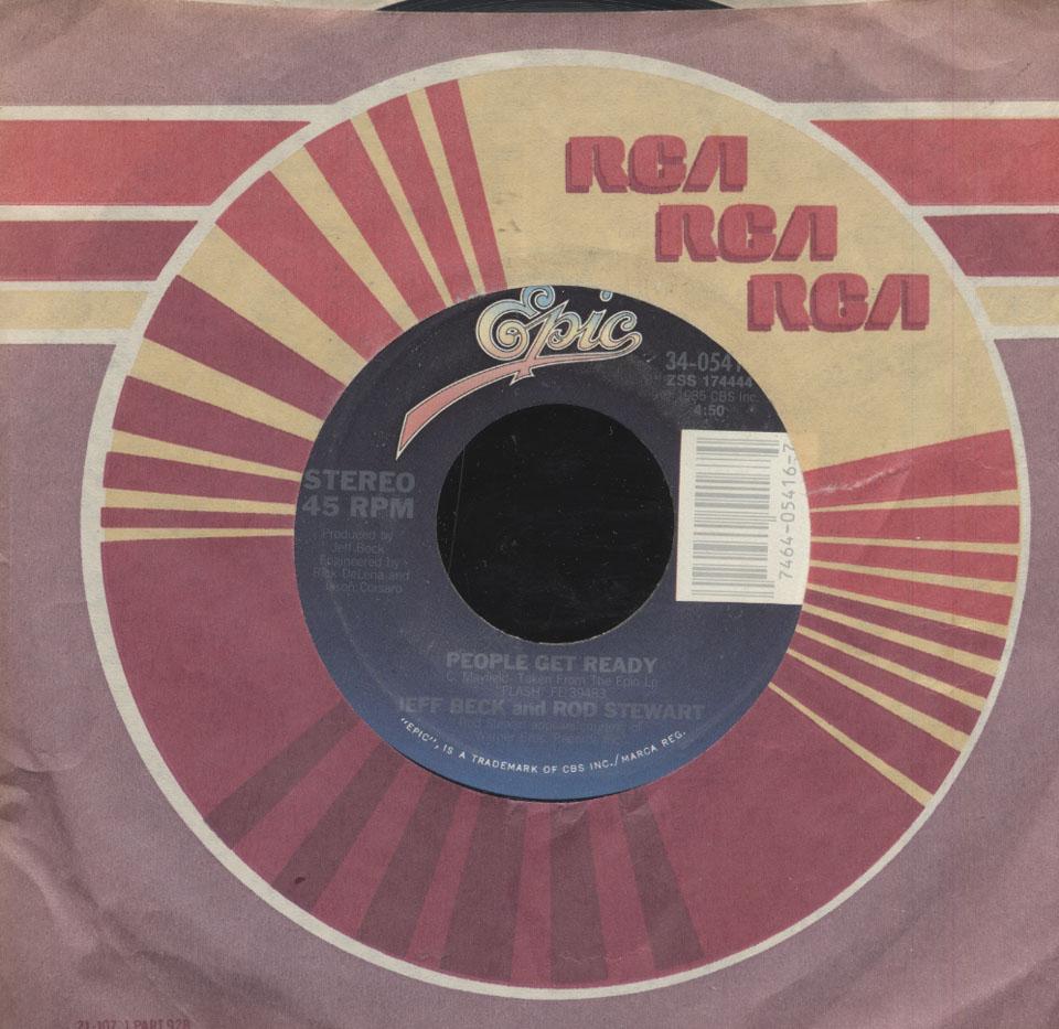 "Jeff Beck / Rod Stewart Vinyl 7"" (Used)"