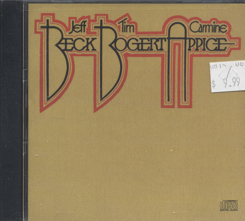 Jeff Beck / Tim Bogert / Carmine Appice CD