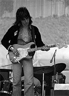 Jeff Beck Fine Art Print
