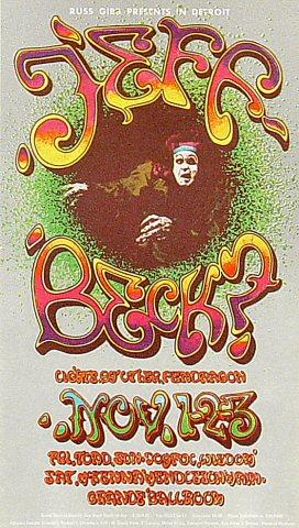 Jeff Beck Postcard