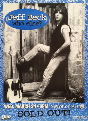 Jeff Beck Poster