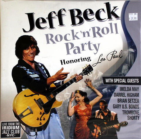 "Jeff Beck Vinyl 12"" (New)"