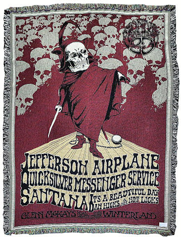 Jefferson Airplane Blanket/Throw