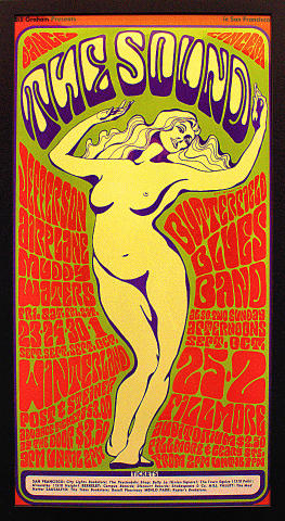 Jefferson Airplane Framed Poster