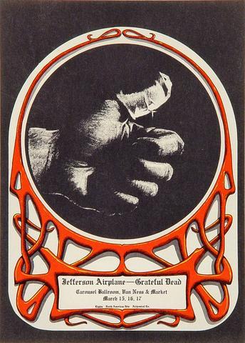 Jefferson Airplane Handbill