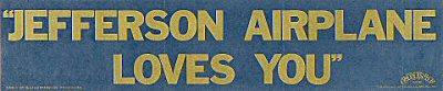 Jefferson Airplane Sticker