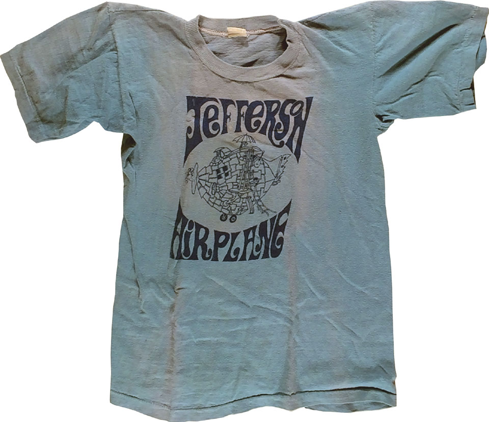 Jefferson Airplane Women's Vintage T-Shirt