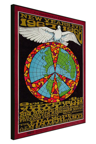Jefferson Airplane Wrapped Canvas