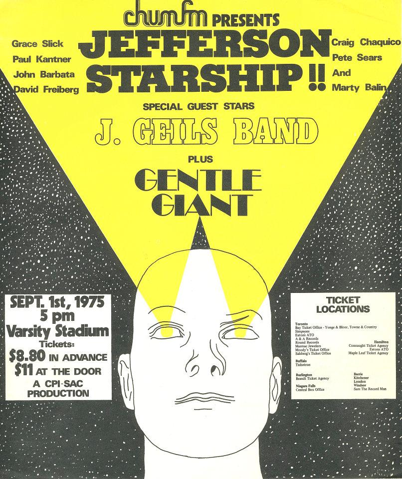 Jefferson Starship Handbill