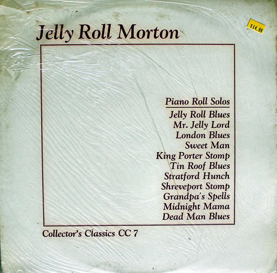"Jelly Roll Morton Vinyl 12"" (New)"