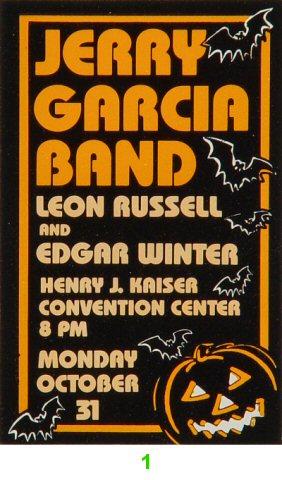 Jerry Garcia Band Laminate