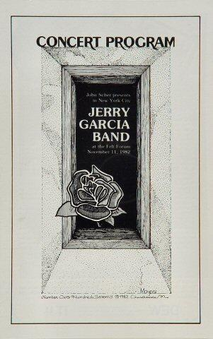 Jerry Garcia Band Program