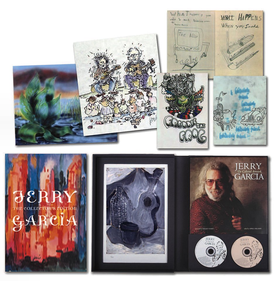 Jerry Garcia - The Collected Artwork (Collector's Edition)