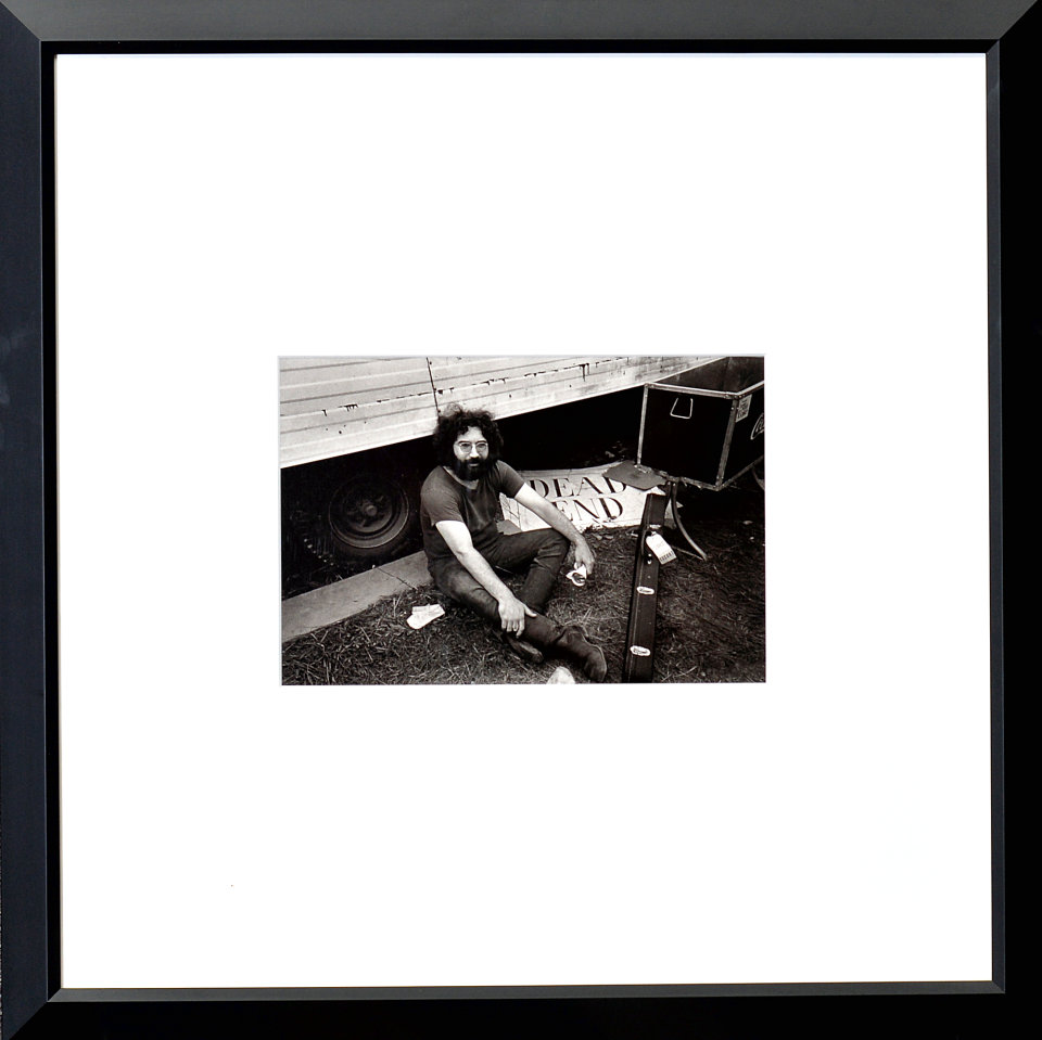 Jerry Garcia Framed Fine Art Print from Woodstock, Aug 15, 1969 at ...