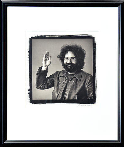 Jerry Garcia Framed Fine Art Print