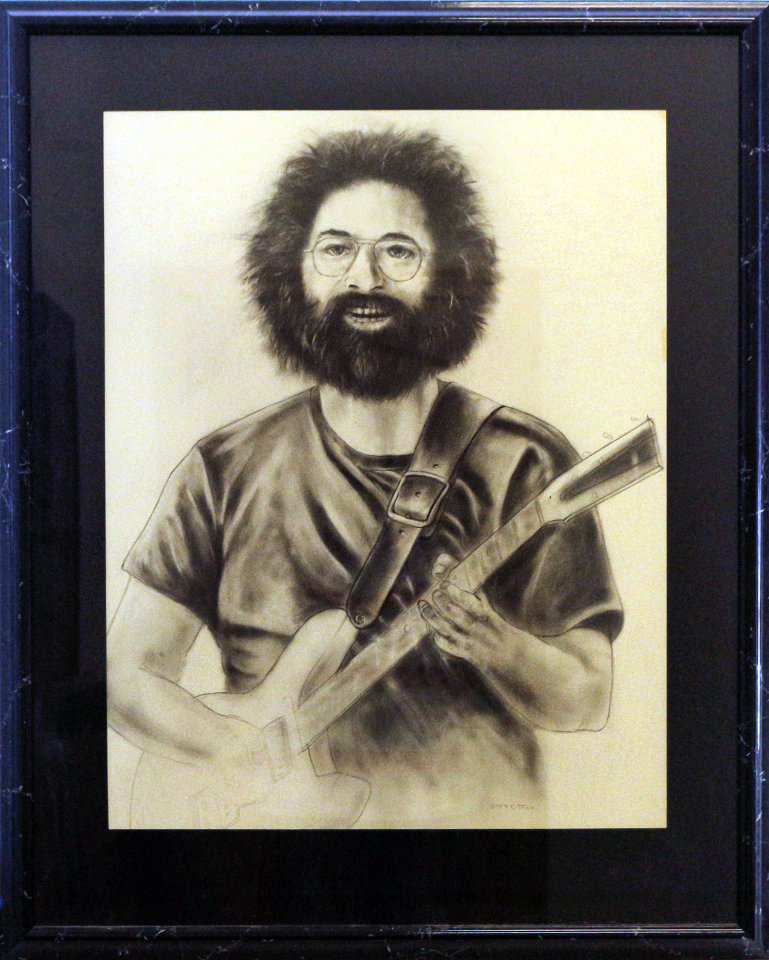 Jerry Garcia Framed Original Art