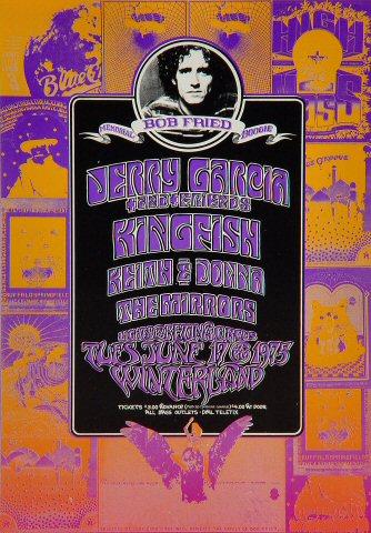 Jerry Garcia Handbill