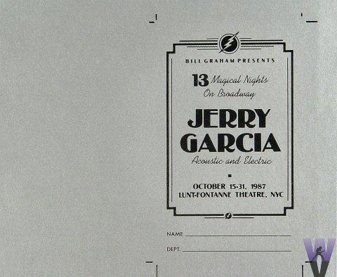 Jerry Garcia Laminate reverse side