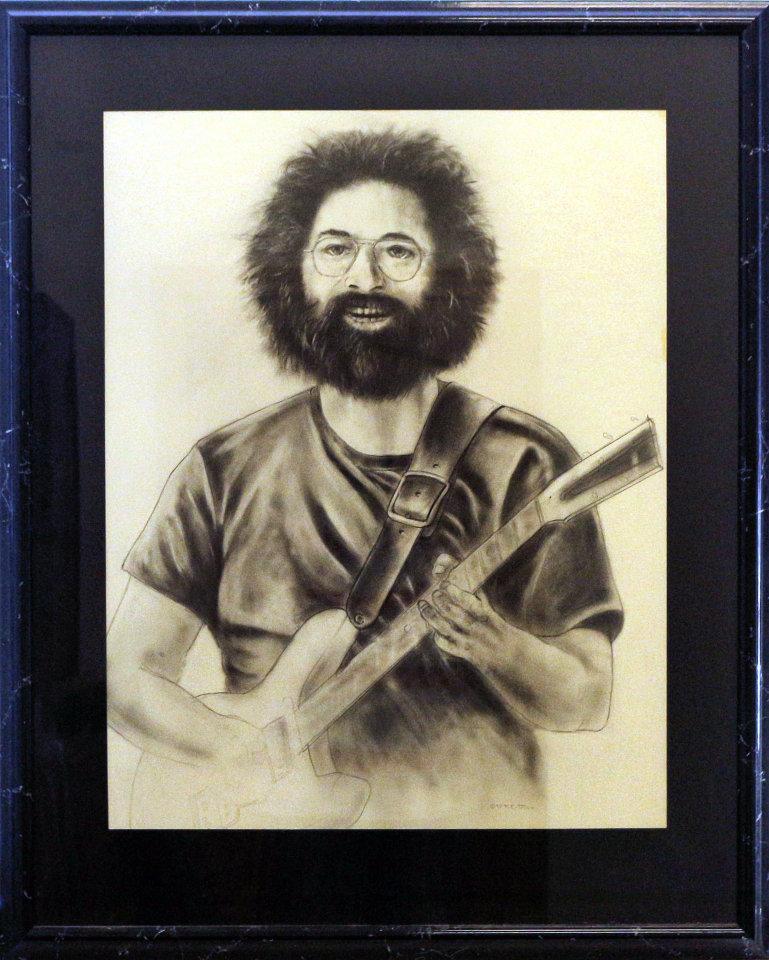 Jerry Garcia Original Art