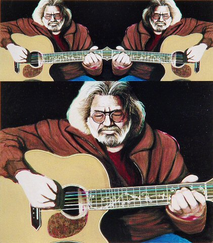 Jerry Garcia Postcard