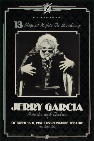 Jerry Garcia Poster