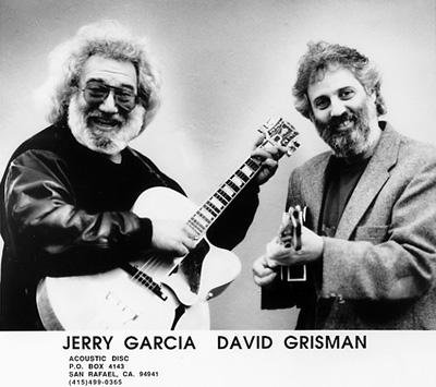 Jerry Garcia Promo Print