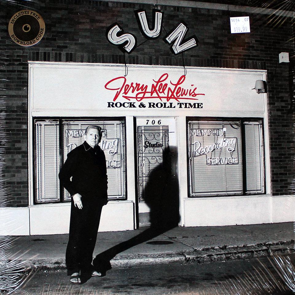 "Jerry Lee Lewis Vinyl 12"" (New)"