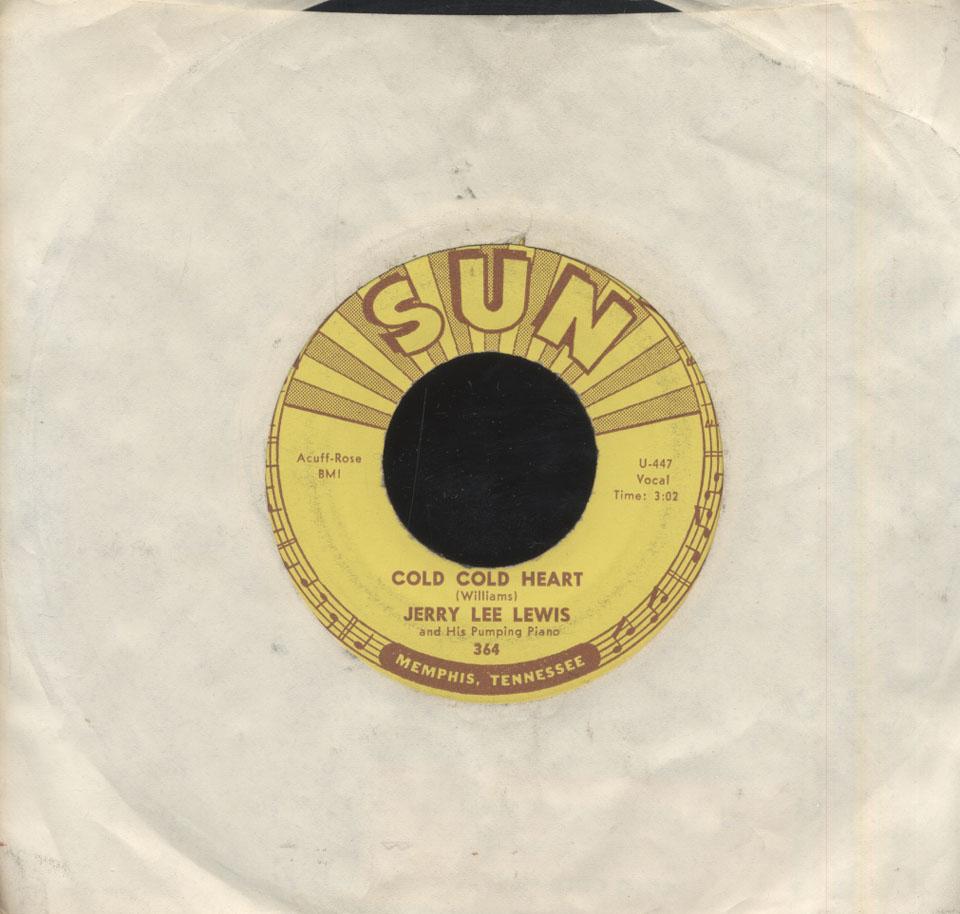 """Jerry Lee Lewis Vinyl 7"""" (Used)"""