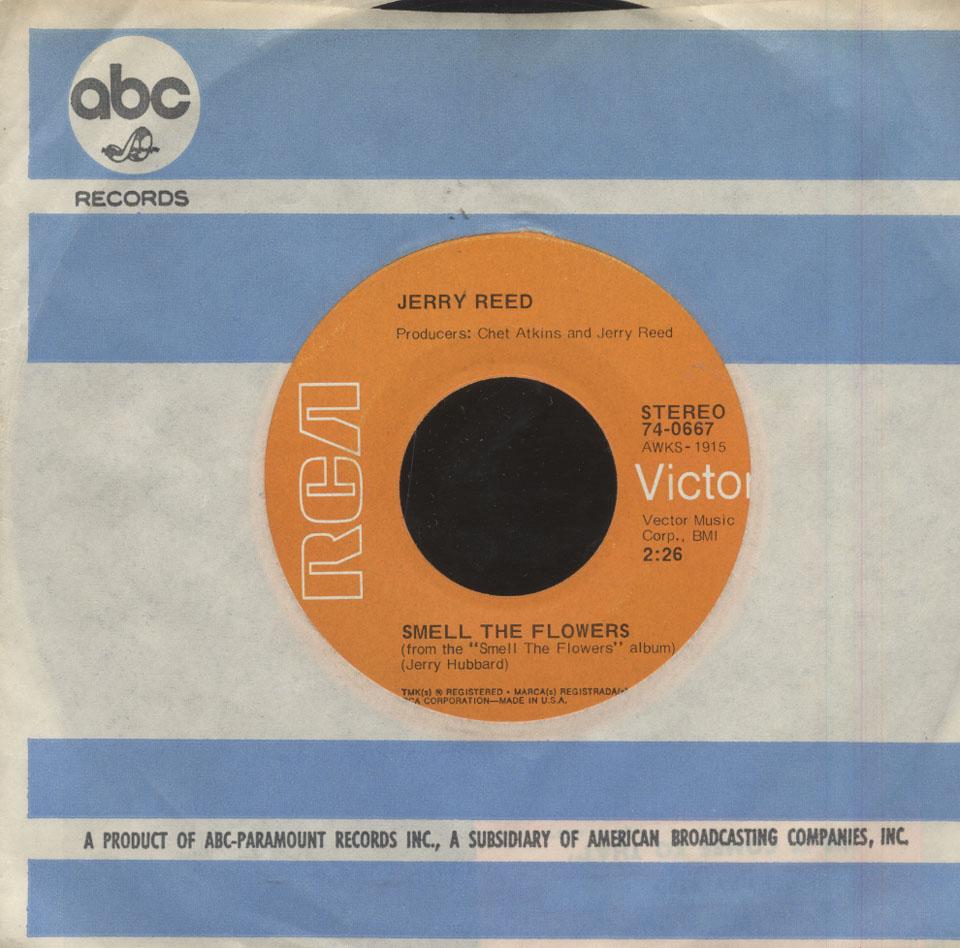 "Jerry Reed Vinyl 7"" (Used)"