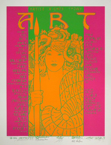 Jesse Colin Young Serigraph