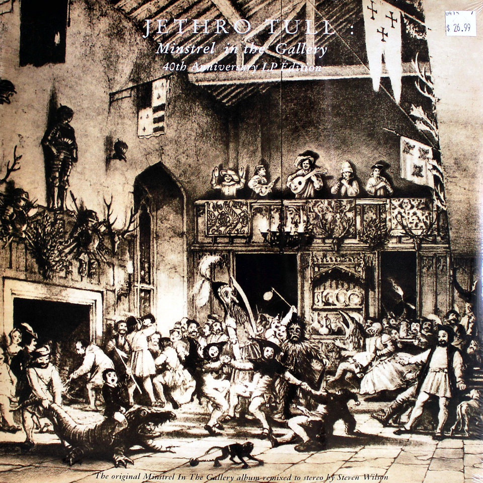 "Jethro Tull Vinyl 12"" (New)"