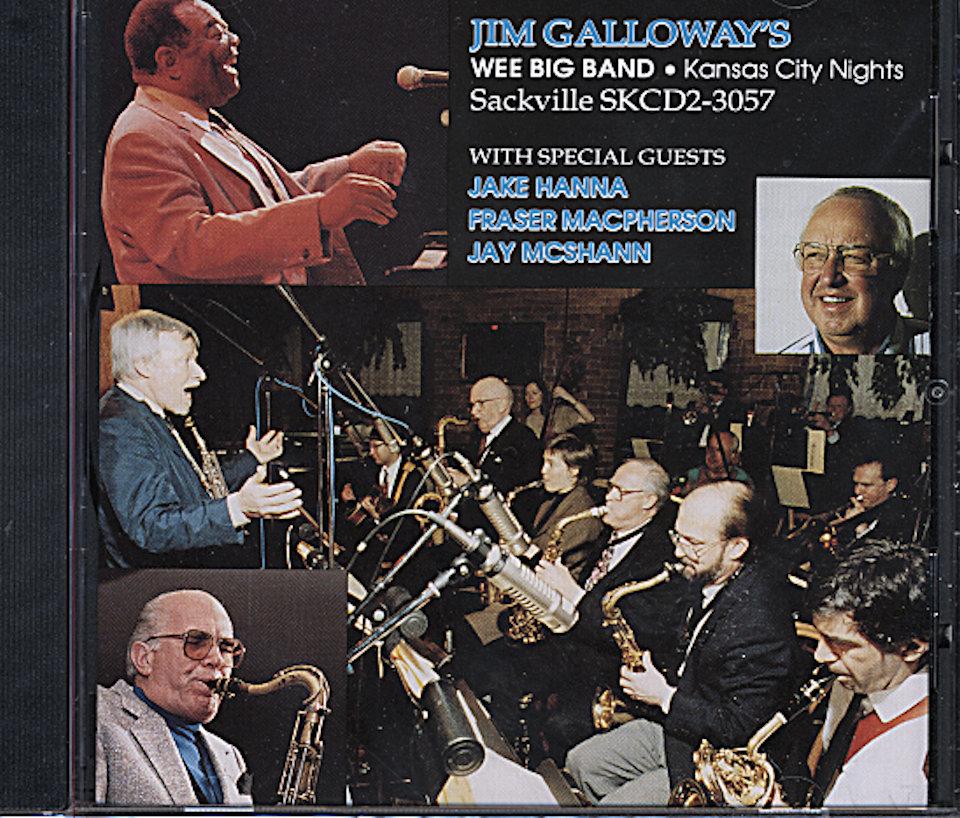 Jim Galloway's Wee Big Band CD
