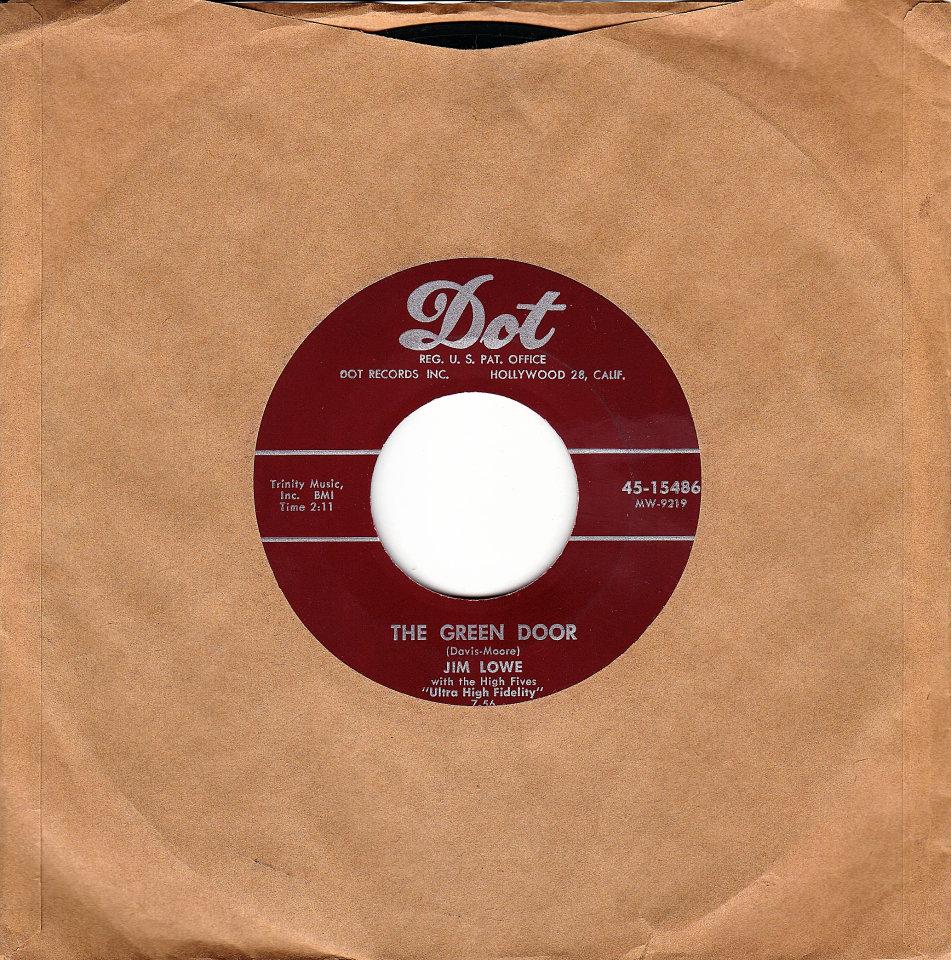 """Jim Lowe Vinyl 7"""" (Used)"""