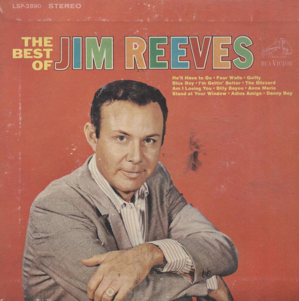 """Jim Reeves Vinyl 7"""" (Used)"""