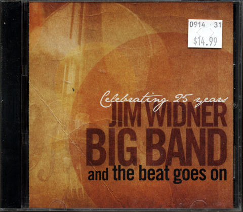 Jim Widner Big Band CD