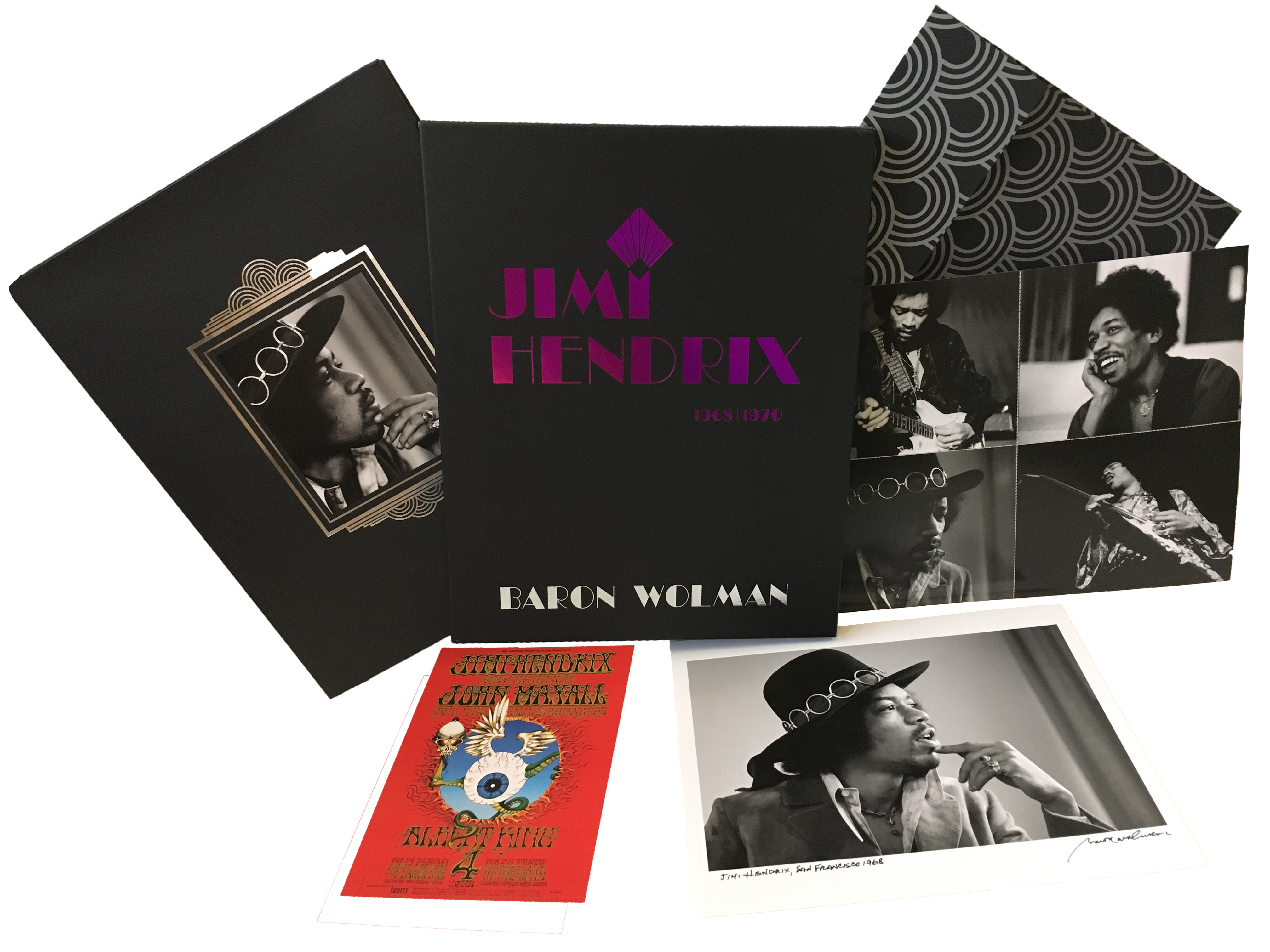Jimi Hendrix 1968|1970 Hard Cover Set