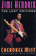 Jimi Hendrix Cherokee Mist The Lost Writings Book