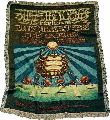 Jimi Hendrix Experience Blanket/Throw