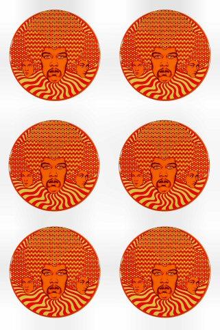 Jimi Hendrix Experience Magnet