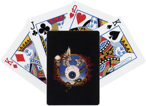 Jimi Hendrix Experience Playing Cards